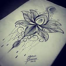 12 Best Simple Lotus Mandala Images Lotus Tattoo Lotus Blossom