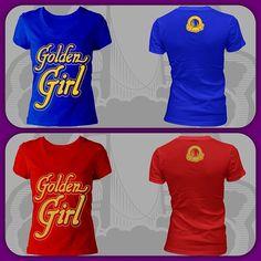 Golden State Warriors San Francisco 49ers Golden Girl #Vnecks #baysicsclothing #Baysics $25