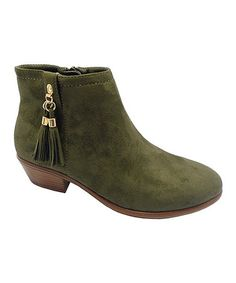 Loving this Olive Manny Boot on #zulily! #zulilyfinds