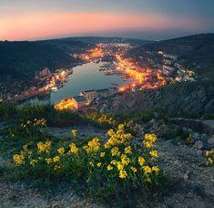 Крым. Вечерняя Балаклава