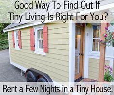 Tiny Home Vacation Rentals