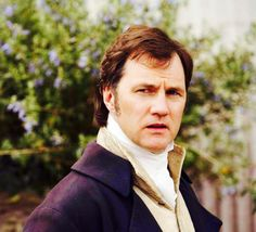 David Morrissey, Colonel Brandon - Sense & Sensibility directed by John Alexander (TV Mini-Series, 2008) #janeausten