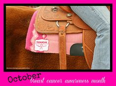 October is breast cancer awareness month. Are you tough enough to wear pink?