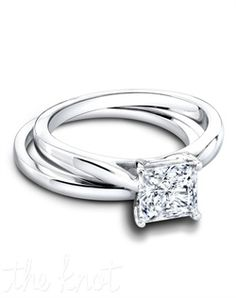 Jeff Cooper, Tess Wedding Set.  The very embodiment of grace and feminity.  Timeless & classic.
