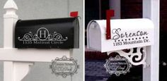 $7.49 Personalized Mailbox Decals Sassy Steals