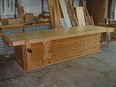 http://bbs.homeshopmachinist.net/threads/11589-Woodworking-bench-pics!