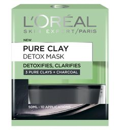 L'Oreal Paris Pure Clay Detox Mask 50ml  Latest from L'oreal I've been trying it for a couple of weeks and so far so good. Looking forward to trying the Purity one x.