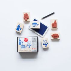 Le,Menu,Stamp,Activity,Kit