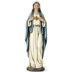 Renaissance Collection Joseph's Studio by Roman Exclusive Immaculate Heart of Mary Figurine, 10-Inch Renaissance Collection http://www.amazon.com/dp/B0085NUZK4/ref=cm_sw_r_pi_dp_Gohdxb0WESN7Q