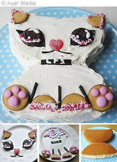 Littlest Pet Shop cat cake