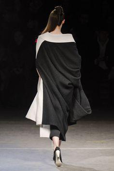 Yohji Yamamoto at Paris Fall 2012