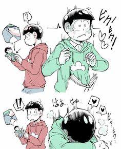 Page 3 Read OsoChoro/ChorOso from the story ❤Osomatsu-san Imágenes by (Matsu) with reads. Bl Comics, Cute Comics, Handsome Anime Guys, Cute Anime Guys, Otaku Anime, Yaoi Hard Manga, Couples Anime, Ecchi Neko, Osomatsu San Doujinshi