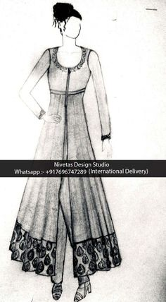 Fashion design sketches indian anarkali suits 62 new ideas Bollywood Outfits, Eid Outfits, Bridal Outfits, Fall Outfits, Fashion Design Sketchbook, Fashion Design Drawings, Fashion Sketches, Dress Sketches, Wedding Suits For Bride