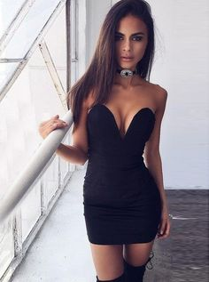 sweetheart homecoming dresses, little black dress, sexy bodycon formal dress