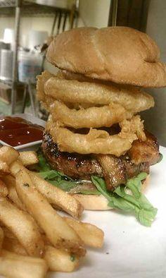 Green Bay:  Hinterland burger and fries