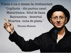 Viata e ca o masa la restaurant. Famous Quotes, Me Quotes, Funny Inspirational Quotes, True Words, Travel Quotes, Proverbs, Cool Words, Things To Think About, Wisdom