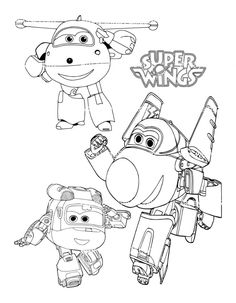 free printable super wings coloring pages | ausmalbilder