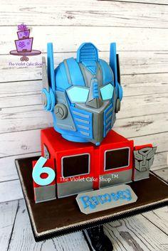 http://www.cakecentral.com/gallery/i/3297594/transformers-optimus-prime-3d-helmet-cake