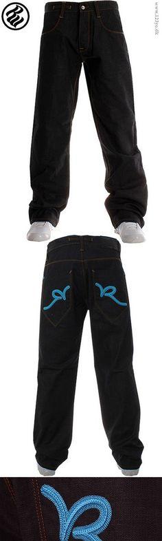 Rocawear jeans i logo broderi på baglommer