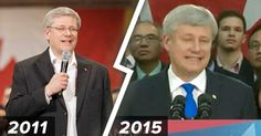 Well, it's Ground Hog day again in Harper's circle! August 27/15 Con/Reform/Alliance leader Stephen Harper announced the exact same policy at the exact same manufacturing plant in the exact same city with the exact same Paul Calandra as he did during the 2011 election!  Anyone else get a feeling of déjà vu or is this a sign Harper's just running out of ideas?