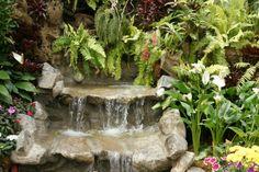 Homemade Garden Waterfalls