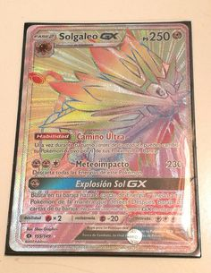 ❗ Solgaleo GX Full Art Ultra Rare Secret❗