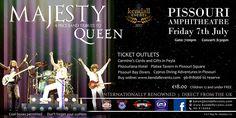 ★ Majesty (Queen tribute) | Pissouri amphitheatre, Fri 7 July ★ #queentribute #majesty #pissourievent #pissouriamphitheatre https://plus.google.com/+PissouribayCyp/posts/jGA5JYLre3m