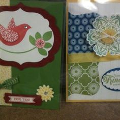 Swaps I made for Stampin' Up! Convention 2012