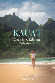 Kauai is one of the most beautiful destinations on earth! Don't miss out on these once-in-a-lifetime adventures, including the best Kauai hikes, beaches, and tours. Kauai Vacation, Hawaii Honeymoon, Kauai Hawaii, Hawaii Travel, Travel Usa, Maui, Hawaii Life, Italy Vacation, Vacation Spots