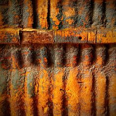 Rust. Curry color, must do something with it.