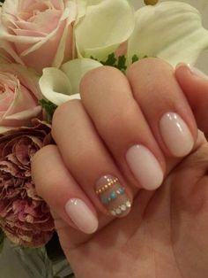 Pretty natural nails