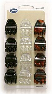 Goody Claw Clip Small Half, 12-Count (6-Pack) by Goody. $24.49