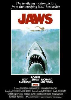 When this movie debuted, my parents wouldn't let me see it~~Said I'd have nightmares!  Well half true, I never go in the water!  LOL