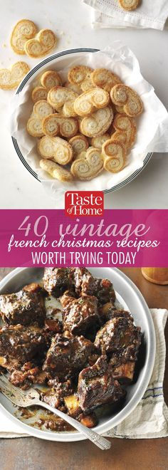 40 Vintage French Christmas Recipes Worth Trying Today Loading. 40 Vintage French Christmas Recipes Worth Trying Today Christmas Food Ideas For Dinner, French Christmas Food, Christmas Food Gifts, Vegan Christmas, Christmas Desserts, Christmas Baking, Christmas Meals, Spanish Christmas, Aussie Christmas