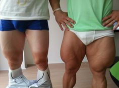 Calf off: Andre Greipel (left) appears to have been well beaten by compatriot Robert Forstemann (right)