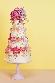 Inspired by the Royal Botanic Gardens at Kew.  Wedding Cakes by Rosalind Miller