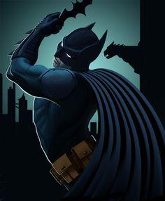 The Dark Knight by ~PeterMan2070