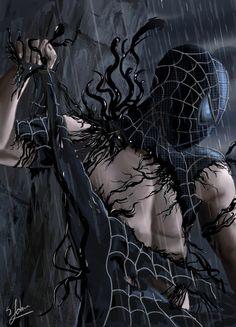 Spider-Man Symbiote Attack