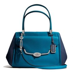The Madison Madeline East/west Satchel In Spectator Saffiano Leather from Coach Style No. 25162  $458