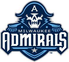 Milwaukee Admirals Primary Logo (2016) -