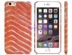 "Carcasa diseño salmon protectora de plástico para 4.7 ""iPhone 6"