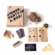 Dinner Party in a Box | The Curiosity Shoppe