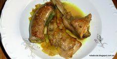 ROBA BRUTA fem cuinetes: ESTOFAT DE CONILL I BOTIFARRA
