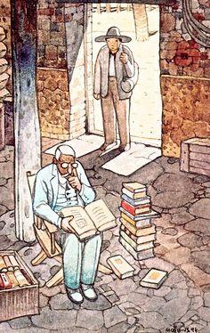 Mœbius Illustrates Paulo Coelho's Inspirational Novel The Alchemist (1998)