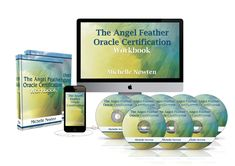 Angel Feather Oracle Certification Course Oracle Certification, Meditation Cd, Angel Readings, Spiritual Practices, Oracle Cards, Deck Of Cards, Certificate, Angels, Feather