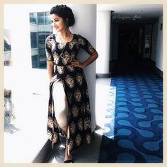 Cotton split top for jeans Kalamkari Designs, Churidar Designs, Kurta Designs Women, Blouse Designs, Indian Dresses, Indian Outfits, Kalamkari Dresses, Kalamkari Kurti, Indian Attire