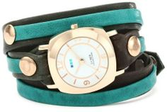 La Mer Collections Women's LMDYLY1001 Neon Odyssey Layer Slate-Teal Wash Watch La Mer Collections. $88.00. Wrap construction. Genuine leather strap. Seiko watch movement. Splash proof. Handcrafted in the usa