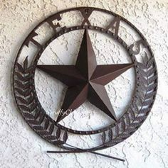 Big TEXAS STAR Metal Wall Plaque Show your Texas pride with this Big Star Wall plaque This magnificent wall wreath is a fun and unique way to declare your love for the Lone Star State, boldly styled a