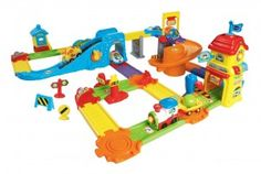 VTech Go! Go! Smart Wheels Train set Review and Giveaway