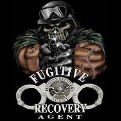 Fugitive Recovery Bail Bond Inverstigator Agent License Plate Frame Tag Holder